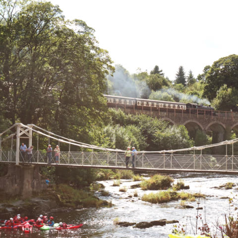 Llangollen Chainbridge